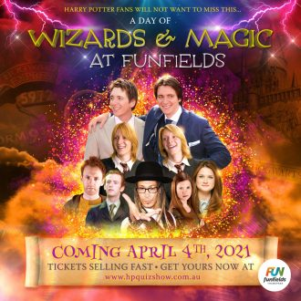 Wizards & Magic at Funfields!